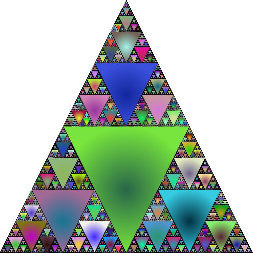 Sierpinski Flood Fill