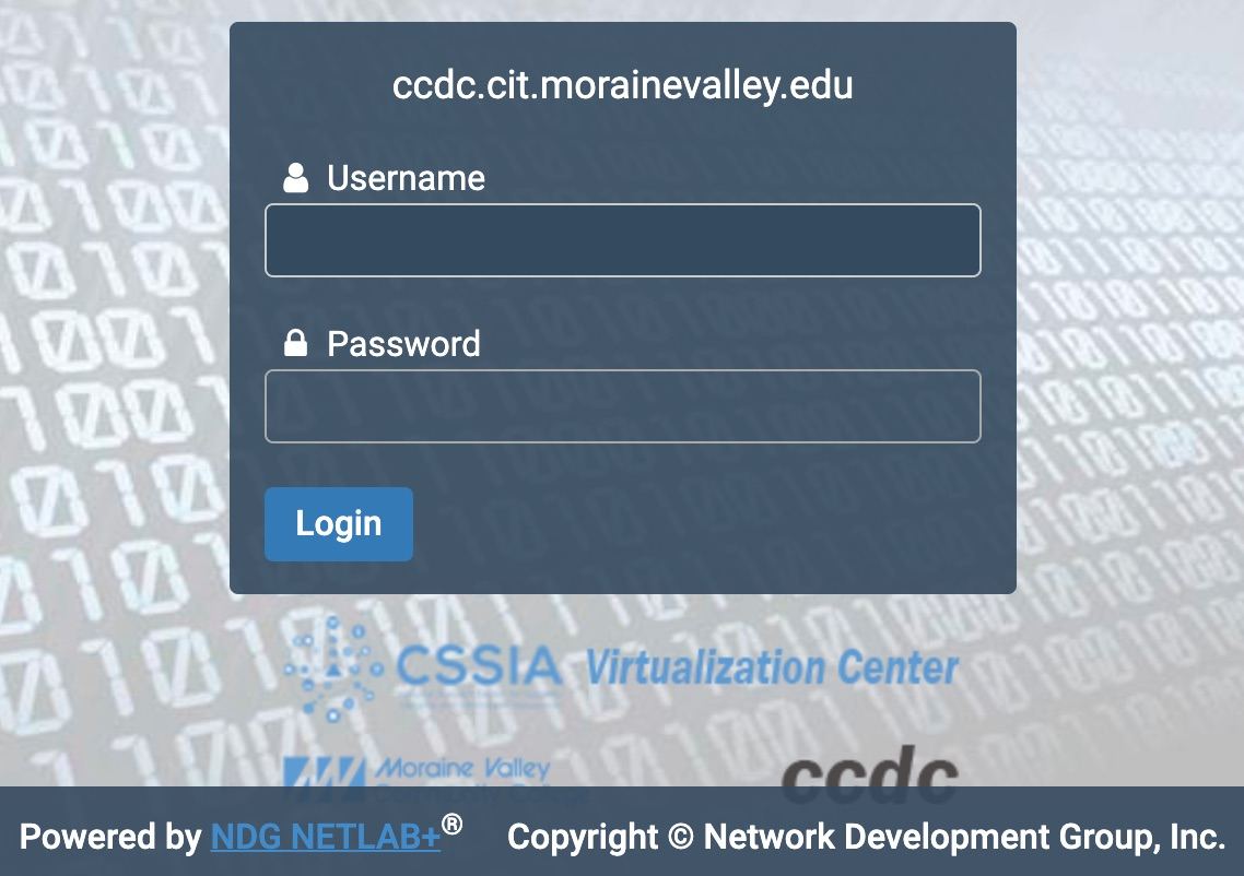 Moraine Valley NETLAB+