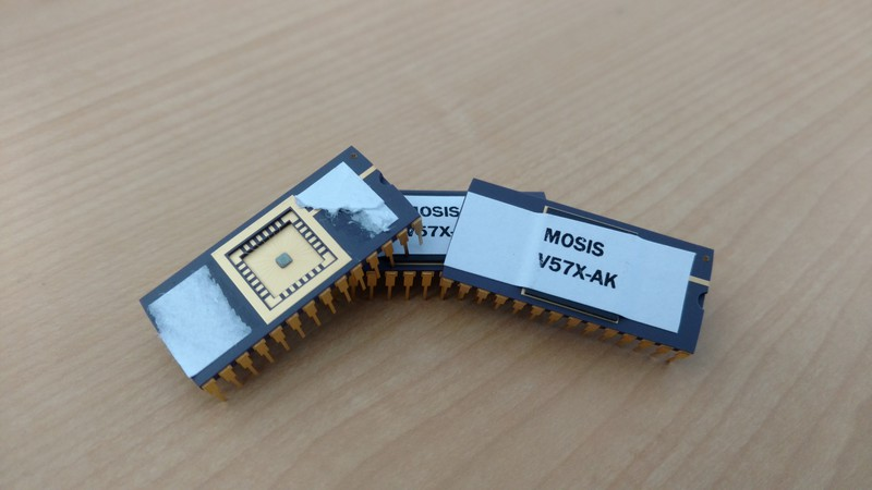 CRC-32 VLSI Chips from MOSIS